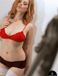 Lottii Rose Red Bra
